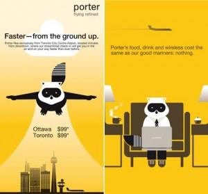 Porter airlines branding case study airline brand