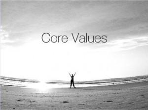 brand core values