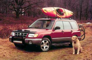 Subaru Forester brand for outdoor enthusiasts